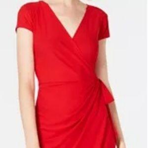New red INC dress!!